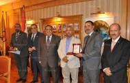 مجلس جامعة حلوان يكرم الفائزين بجوائز الدولة للتفوق وجوائز الدولة التشجيعية لعام 2016